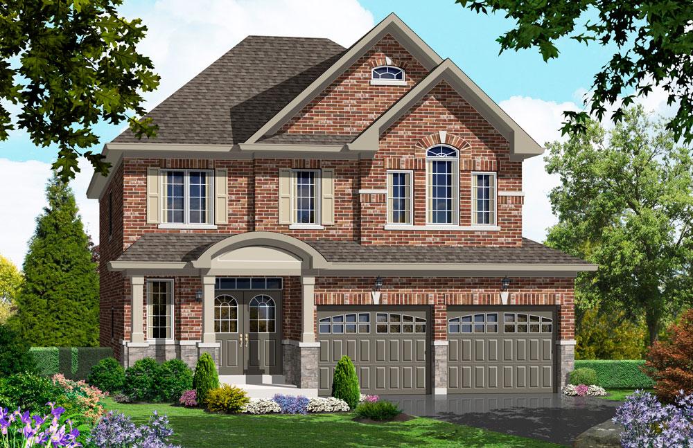 The cedar ridge 1 delpark homes Ridge house